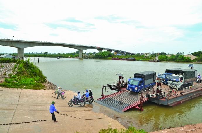 Công trình cầu Thái Hà