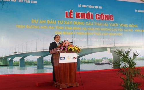 Biểu phí đường bộ trạm thu phí cầu Thái Hà, tỉnh Thái Bình